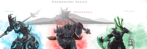 Shadow Isles - Riders by Keilink