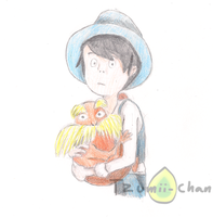 the lorax and once-ler by tzumii