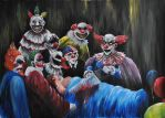 Clowns by SirDomPayne