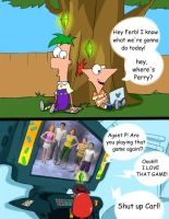 Phineas and Ferb + The Sims 3 by catgirl320