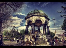 The German Fountain HDR by ISIK5