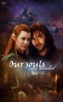 Kili and Tauriel - Our souls by gogo888