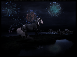 COMMISSION: Moments That Take Your Breath Away by BlueHorseStudios