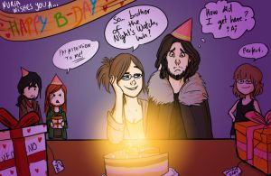 Happy B-day, LokLoks! by ShamanEileen