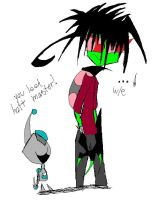 Emo Zim and Epic GIR by TheFMAisMine