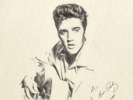 Elvis Presley //ART// by KENANN827