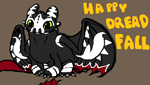 Happy dreadfall from toothless! by Dragonnerd906