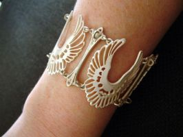 Angel Wing Bracelet by Tzel-ha-Lyla
