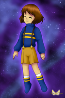 Outertale Frisk by LudiculousPegasus