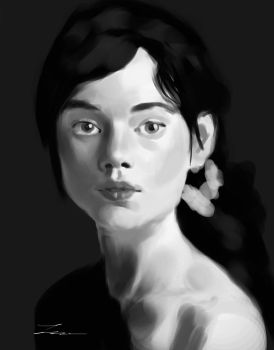 Portrait 7 - Study by lancevl