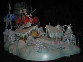 Christmas Parade 3 by WDWParksGal-Stock