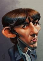 George Harrison by bogdancovaciu