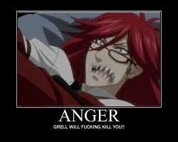 Grell is not pleased by happyfeet19942008