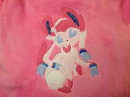 Sylveon Blanket by GraycilynTalor