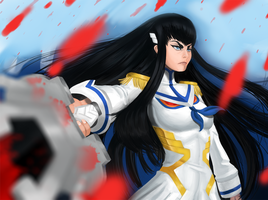 Satsuki's Declaration of War by DCLzexon