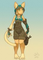 furry mechanic by Or1s