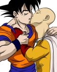Goku and Saitama by Axcido