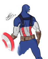 Captain America by shawnishere