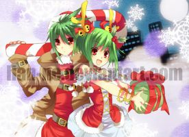 Present + A Candy Stick by lian-ne