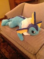 Vaporeon Plush by aliapples