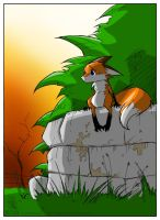 Jolly Jack's Lonely Fox by Cutter9792