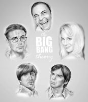 Big Bang Theory by gregchapin