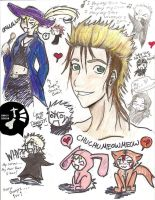 Demyx and... crap doodles D: by ShinobiFaye
