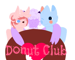 Donut club!! by NekoMewMix