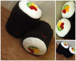 Hoso Roll Collage by Jonisey