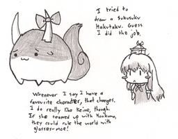 Some Keine-related drawings. by GlassMan-RV