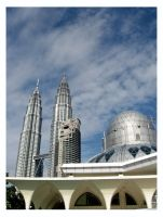 KLCC Mosque by noremorseiwannadie