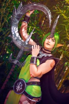 League of Legends - Dryad Soraka Cosplay by HanabiCosplay