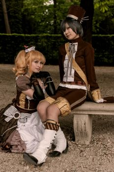Lizzy and Ciel Chocolate 2 by Sakurikacosplay