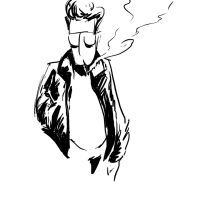 Greasers 5 Min Sketch Mikey by SirGryphon