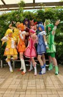 Smile PreCure/Tokyo Mew Mew - ALL of the colors! by kaiyasaur