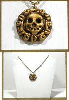 Pirate Coin Necklace by chat-noir
