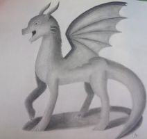 The Winged Beast. by NotSoCuteAndFuzzy