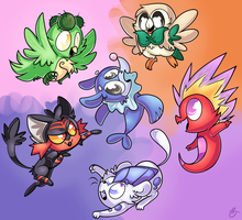 Starters! by ChatotLover448
