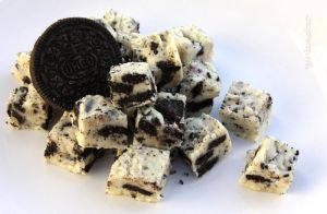White Chocolate Oreo Fudge by claremanson