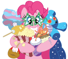 Pinkies day on the carnival by Stainless33