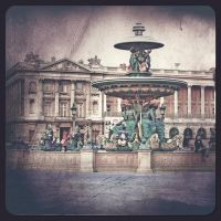 Place Concorde-Paris by Alabastra