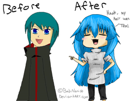 Before and After by BabiNani