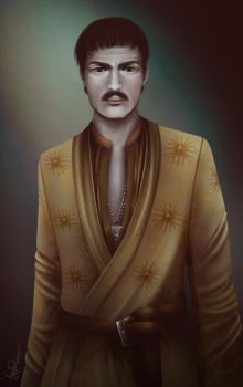 The Red Viper of Dorne by RubyKeane