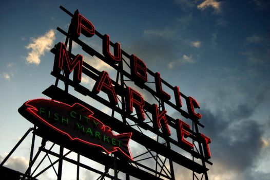 Pike Place Market by MartinIsaac