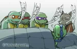 TMNT fan work 16 by Rcaptain