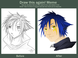 Meme: Before and After by Kasamizuki