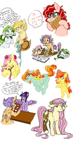 Next Gen MLP dump by SkittyStrawberries
