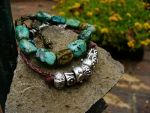 Bracelet Set - Fashionably Rough by barananduen