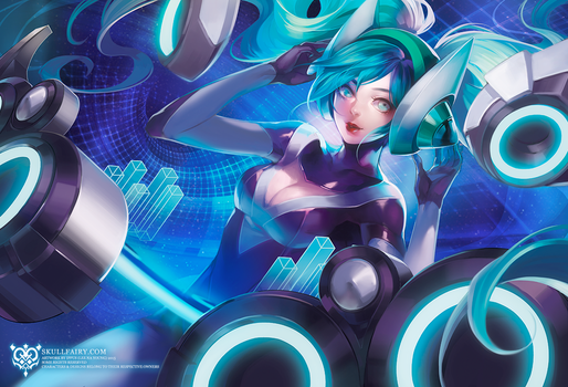 LoL: DJ SONA by ippus