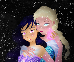 She froze my heart... by DarleenEnchanted